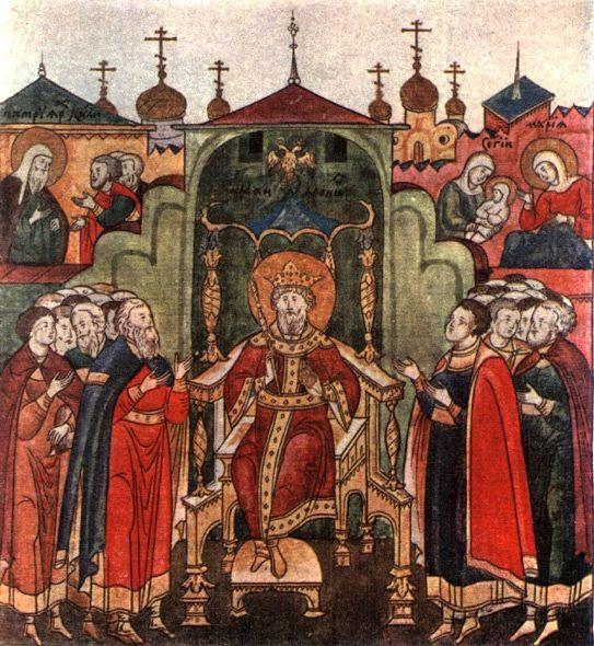 Рождение преподобного Сергия Радонежского
