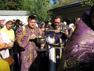 2014-08-14 Service Holy-cross-procession-feast 001