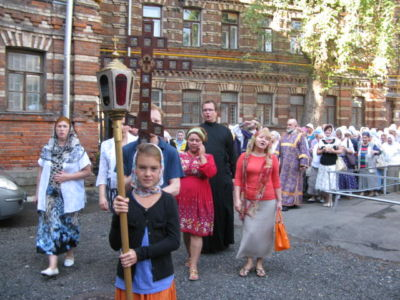 2014-08-14 Service Holy-cross-procession-feast 002