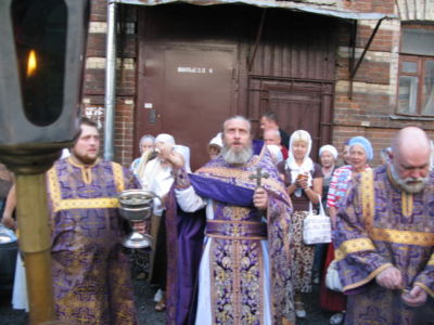 2014-08-14 Service Holy-cross-procession-feast 008