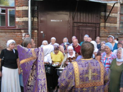 2014-08-14 Service Holy-cross-procession-feast 010