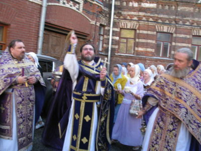 2014-08-14 Service Holy-cross-procession-feast 012
