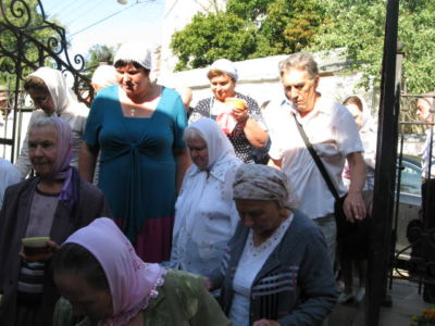 2014-08-14 Service Holy-cross-procession-feast 028