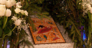 Икона Рождества Христова.