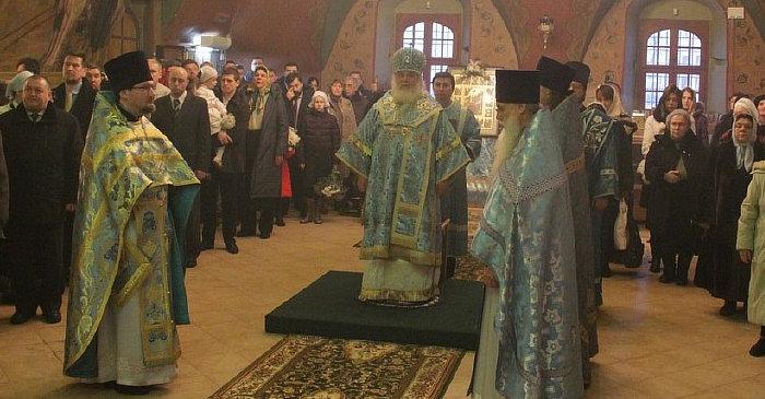 Праздник иконы Знамение (2013).