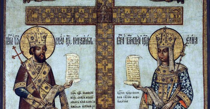 Икона Кийского Креста