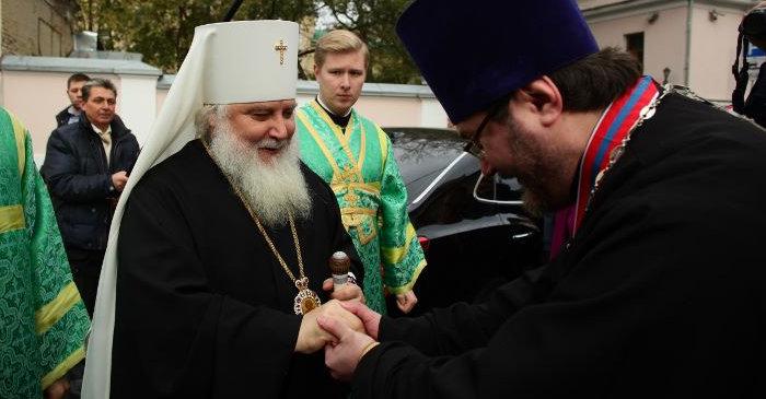 Встреча митрополита Арсения