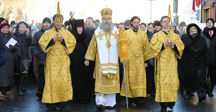Крестный ход в день святителя Петра (2016)