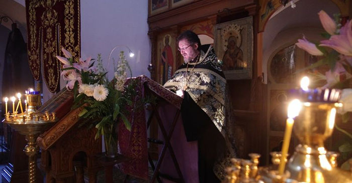 Чтение Великого покаянного канона