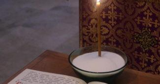 Освящение соли в Великий четверг